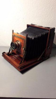 TO SELL!!! / ZU VERKAUFEN!!! 250€ Antike Kamera / Holzkamera / Atelierkamera / Plattenkamera / Vintage / Camera