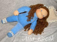 Куколка для Эвы. Рост - 33см.