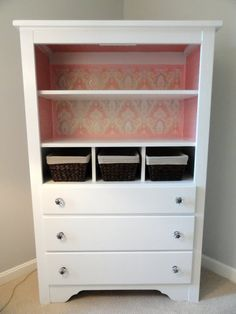 When Josh And I Started Talking About Nursery Furniture For Our Baby Girl,  I Knew