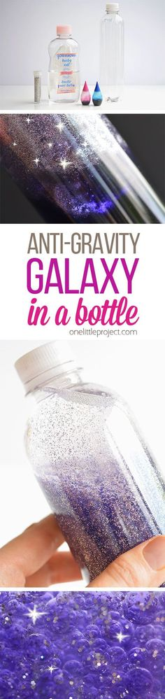 Anti-Gravity Galaxy in a Bottle