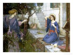 The Annunciation, c.1914 reproduction procédé giclée