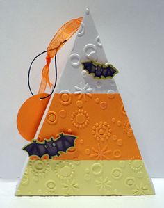 Candy Corn Box + tutorial