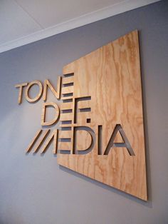 wooden laser cut store front sign - Google Search