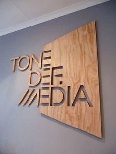 59 ideas wood logo design signage for 2019 Environmental Graphic Design, Environmental Graphics, Wayfinding Signage, Signage Design, Web Banner Design, Logos Online, Vitrine Design, Laser Cutter Projects, Wood Logo