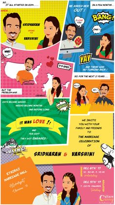When everything is getting Digital, why wedding invitations be left behind? So, Check out the most unique ideas to send your wedding invitations through Whatsapp! Quirky Wedding Invitations, Indian Wedding Invitation Cards, Wedding Invitation Design, Wedding Cards, Invitation Ideas, Invitation Templates, Invitation Wording, Email Invites, Indian Invitations