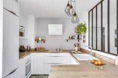 Wooden Kitchen, New Kitchen, Kitchen White, Kitchen Room Design, Kitchen Decor, Küchen Design, House Design, Kitchen Collection, Easy Home Decor