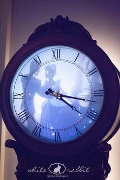 The clock inside the Disneyland Dream Suite {Photo credit White Rabbit Photo Boutique}