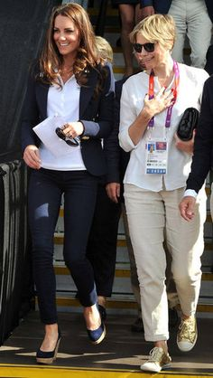 Kate Middleton is killing it with her sporty Olympics style.