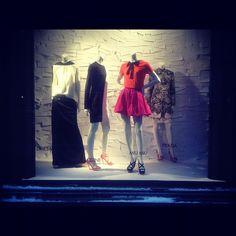 LIGHTING Winter Holiday Window Displays at Bergdorf Goodman, NYC 2012