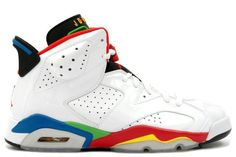 huge selection of a557d 57fc5 Buy New Air Jordan Retro 6 Olympic 2008 White Red Green Blue from Reliable  New Air Jordan Retro 6 Olympic 2008 White Red Green Blue suppliers.