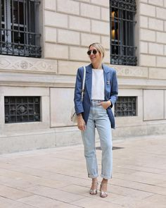 Blazer, Chic, Mom Jeans, Summer Outfits, Spring Summer, Normcore, Instagram, Pants, Style