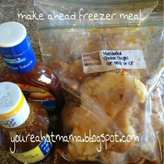 hot mama: Make Ahead Meal: BBQ Chicken Teriyaki