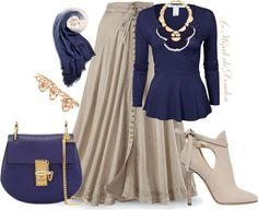 hijab hijeb voile outfit inspiration tenue look style fashion mode muslima…