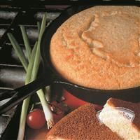 Southern Cornbread from Martha White® I use 1 3/4 c buttermilk and use oil in the pan, not cooking spray.