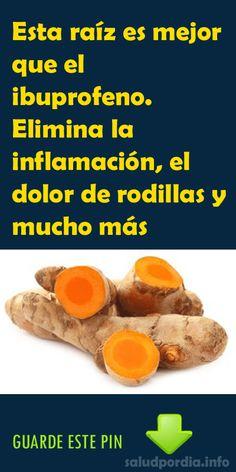 Esta raíz es mejor que el ibuprofeno. Elimina la inflamación, el dolor de rodillas y mucho más - Salud por Día