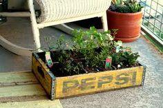 Gerecycleerde plantenbak