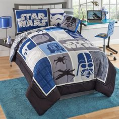 Star Wars Bed Sets : The Ultimate Convenience! Star Wars bed sets bring your kids' imagination to the space as they come with . Star Wars Room Decor, Star Wars Bedroom, Star Wars Bedding, Star Wars Bed Sheets, Meninas Star Wars, Twin Size Bed Sets, Twin Xl, Kids Bedding Sets, Twin Comforter