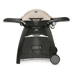 Weber Q 3200 Propane Gas Grill in Titanium with Built-In - The Home Depot Propane Gas Grill, Gas Bbq, Barbecue Grill, Bbq Meat, Home Depot, Small Grill, Best Gas Grills, Home Appliance Store, Portable Grill