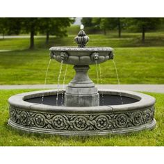 Exceptional Parisienne One Tier Fountain Ideas