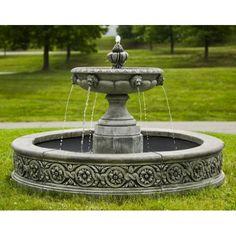 Exceptional Parisienne One Tier Fountain Ideas