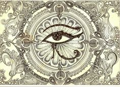 The Eye of Horus (Eye of Ra)... My next tattoo that will be on my right foot