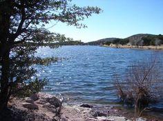 Local Arizona lake, Parker Canyon.