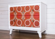 A stand out retro chest of drawers by Jitka Brimble, £380