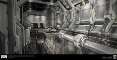 View an image titled 'Industrial Architecture Art' in our Doom art gallery featuring official character designs, concept art, and promo pictures. Environment Concept Art, Environment Design, Industrial Architecture, Architecture Art, Game Level Design, Doom 2016, Star Wars Rpg, Environmental Art, Source Of Inspiration
