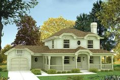 House Plan 57-154 - love this plan