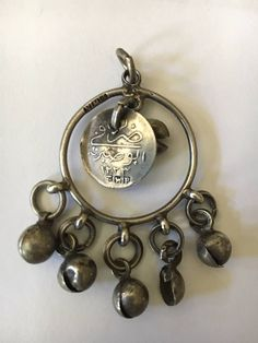 A Turkish Pendant with old coin Blue Mosque, Old Coins, Pocket Watch, Turkey, Beads, Trending Outfits, Pendant, Unique Jewelry, Handmade Gifts