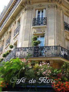 Cafe de Flore, Blvd St. Germain, Paris