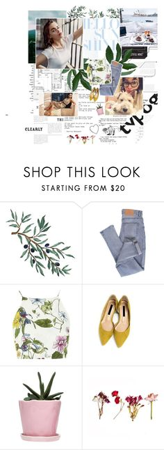 """""""the world moves on, another day, another drama, drama"""" by vicks ❤ liked on Polyvore featuring WALL, Cheap Monday, Glamorous and Dot & Bo"""