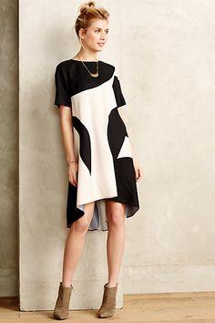 Modernity Silk Swing Dress by Ali Ro #anthroregistry