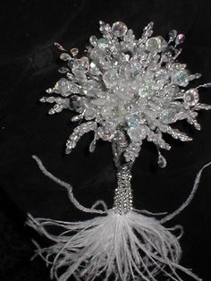 Jewelled CRYSTAL Bridal Bouquet.@<3