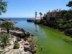 De prachtige badplaats Cascais, op een halfuurtje met de trein van Lissabon