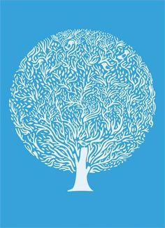 blue tree | Miscellaneous JK via Yard Gallery