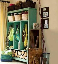 DIY Indoor Storage Locker | Crafts For The Home | Organizational Craft — Country Woman Magazine