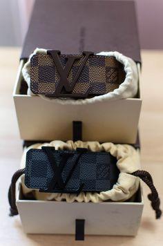 Nice Louis Vuitton Monogram belts.