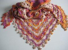 Fritillary Shawl By Aparna Rolfe - Free Crochet Pattern - (ravelry)