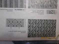 pletený vzorek