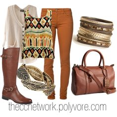 """""""My mindset is with this Fall Outfit"""" by theccnetwork on Polyvore"""