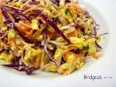 Les Cinq Sens: Salade de choux rouge, vert et chinois