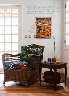 Open house - Regina Meira. Veja mais: https://casadevalentina.com.br/blog/detalhes/open-house--regina-meira-2827 #decor #decoracao #interior #design #casa #home #house #idea #ideia #detalhes #details #openhouse #style #estilo #casadevalentina