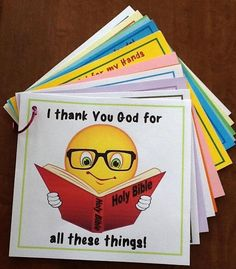 This is not intended for Bible class. This was used for home learning. There is a Thankful book that can be used for Bible class. Sunday School Activities, Sunday School Lessons, Sunday School Crafts, Bible Study For Kids, Bible Lessons For Kids, Kids Bible, Children's Bible, Preschool Bible, Bible Activities