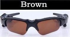 Bluetooth MP3 Player Photo Video Sunglasses Camera Mini DV Camcorder