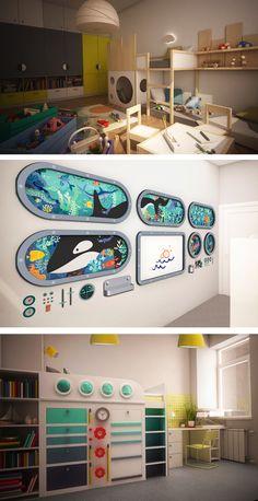 Kids room #renders
