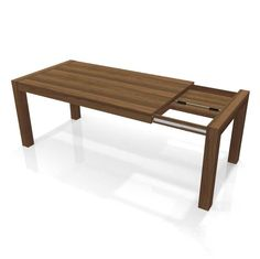 Extendable table with self storage compartment! The Chelsea Dining Table works for any group! http://elitedesignfurn.com/dining/tables/extendable-tables/chelsea-dining-table-with-self-storing-leaf-detail