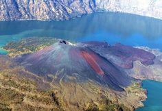 Volcán Puyehue, en Chile, después de la erupción de cenizas, 1912.