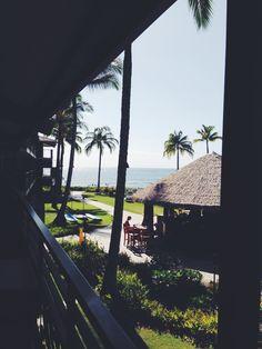 Koa kea hotel view from our balcony #hawaii #kauai #travel