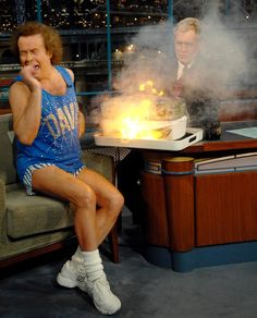 Things certainly got a little heated when Richard Simmons swung by the studio in 2006 -- a vegetable steamer actually exploded.